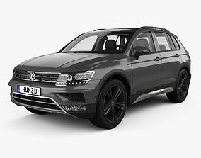 Volkswagen Tiguan Off-road with HQ interior 2015 3D