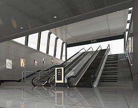 3D model Subway Entrance 2