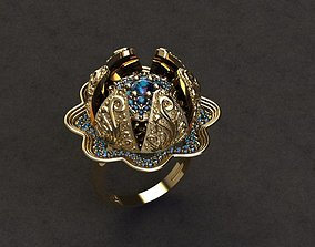 moving jewelry ring 3D print model