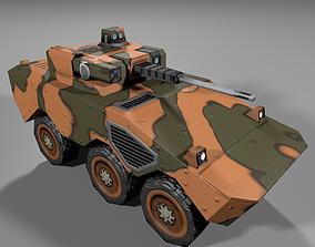 Guarana Tank 3D model realtime