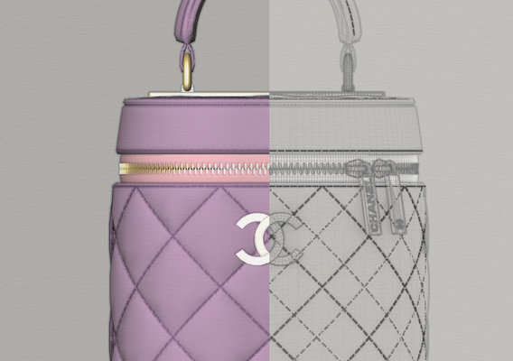 Chanel Vanity Case for Second life ans Sims!
