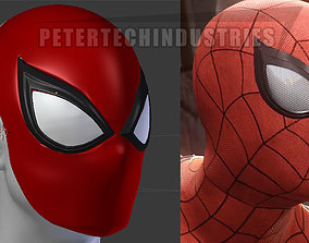 Spiderman PS4 Faceshell Lenses New Version 3D print model