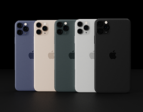 Concept of Apple iPhone 12 Pro Max In All Leaked 3D asset