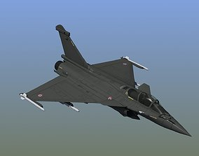 3D model Rafale C Military Aircraft