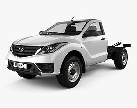 Mazda BT-50 Single Cab Chassis 2018 3D