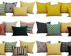 Decroative set pillow HM 3D model