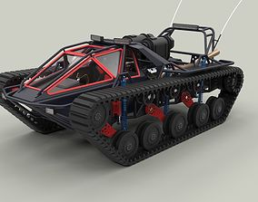 Tracked vehicle 6 3D