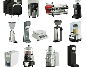 3D appliance Bar equipment collection