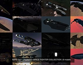 WIPE OUT - INSPIRED SPACE FIGHTER COLLECTION 3D