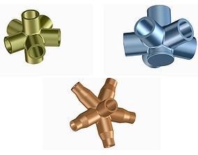 3D model Innovative Pipe Fittings