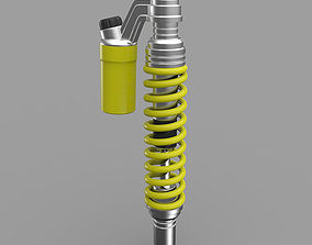 3D model Motorcycle Rear Shock Absorber