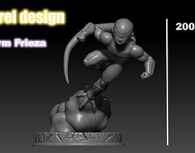 Final Form Frieza 3D Printing Miniature 3D print model