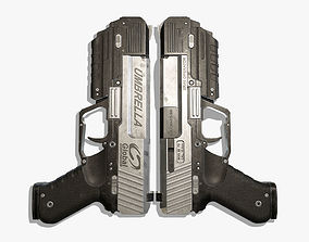 3D model Sci Fi Gun 04