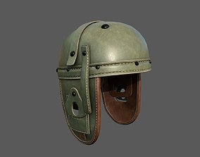 game-ready Helmet combat military Scifi 3d model