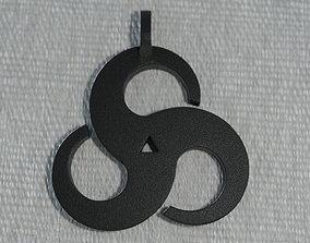 3D print model Triskelion Pendant 01