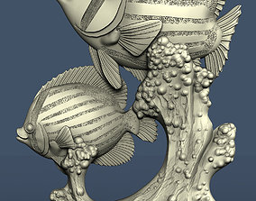 3d STL model for CNC fishes