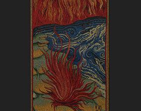 3D asset Fire Tapestry