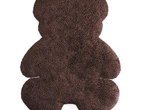 3D Bear Shaped Wool Carpet