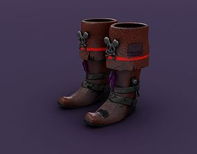 Pirate Boots 3D