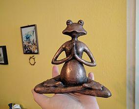 3D printable model Meditating frog