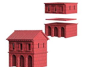 Medieval House 3D printable model