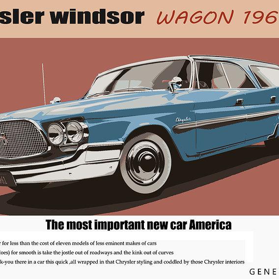 Chrysler Windsor Wagon 1960