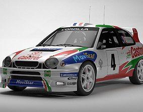 3D Toyota Corolla WRC