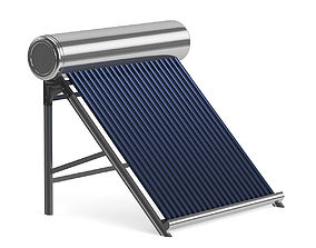 container Solar Heater 3D Model