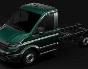 WV Crafter Chassis Single-Cab 2017 3D