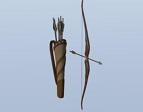 3D Simple bow and arrow