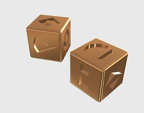 3D printable model Han Solo Lucky Dice