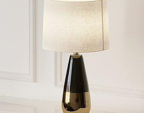 3D Roscoe Ceramic Table Lamp