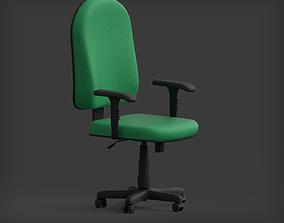 3D asset High-Back Office Chair