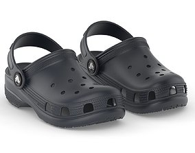 3D model Crocs Classic Clog Navy