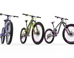AMD Enduro Bike 3D Model