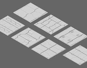 Sci Fi Texture Model 3D