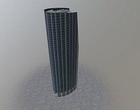 London Athena Tower 3D asset