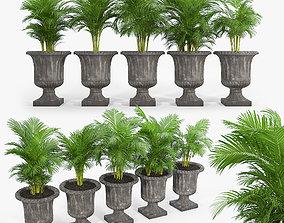 Crawfordsland Metal Pot Planter 03 3D