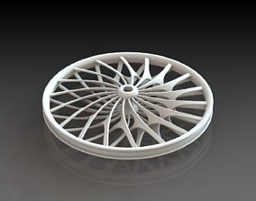 Road Wheel 3D Printed