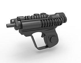 Scout trooper blaster pistol EC-17 3D model