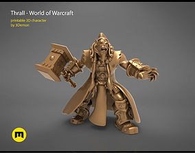 warior Thrall World of Warcraft 3D printable model