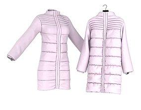 Pink Women s Jacket 3D model