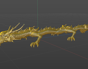 myth Dragon 3D model