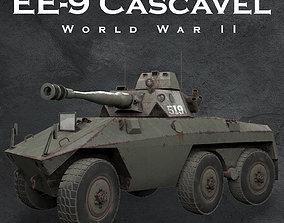 3D model EE-9 Cascavel ver 2