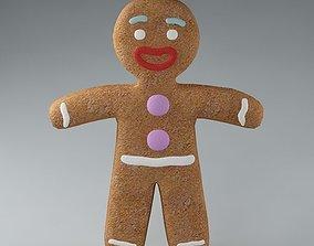 Gingerbread Man 03 3D model