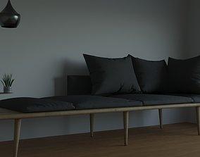3D model Boulton Modular Sofa