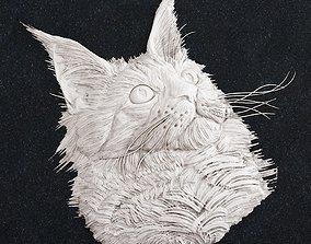 Cat Head 1 3D printable model