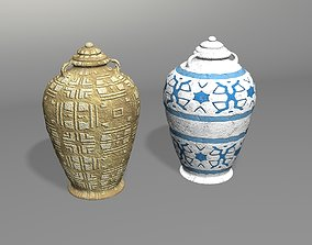 3D asset Old Jug Of Oil - 2 Styles