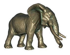 3D print model Elephant statue