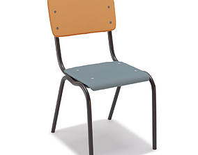 Vinyl-Vinyl Chairs by Serax 3D asset